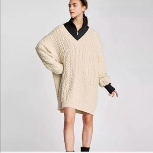 Bloggers Favorite Zara Knit Oversized Sweater